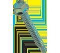 Hex Washer Head 1/4-14 Self-Drilling TEK Screws / Zinc Plated (JUG)