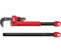 "Straight Pipe Wrench - 10""/18""/24"" - Steel / 48-22-7314 *CHEATER"