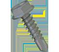 Hex Washer Head 1/4-14 TEK Screws / RUSPRO® Coated Stainless Steel (JUG)