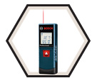 Laser Measure - 65' - Red - AAA Battery / GLM20 *BLAZE