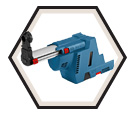 Dust Extractor - SDS Plus - HEPA Filter / GDE18V-16