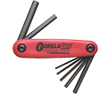 Hex Key Set - Fold Up - Hex End - Metric - 7 pc / 12587 *GORILLAGRIP