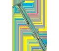 Wafer Head w/ Reamer 10-24 Robertson Self-Drilling TEK Screws / Zinc Plated (Bulk)