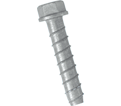 "Hex Head TORPEDO® Bolt 5/8"" - Galvanized Carbon Steel / UTB"