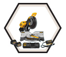 "Compound Miter Saw - 12"" - 20V/60V Li-Ion / DHS716A Series *FLEXVOLT"