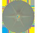 "U-Drive® Stress Plate - 3"" Round / Plastic"