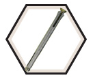 Frame Anchor - 10mm x 130mm / Galvanized
