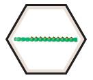 0.27 Caliber Strip - Green - Light