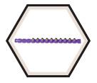 0.27 Caliber Strip - Purple - Extra Strong