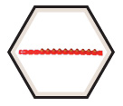 0.27 Caliber Strip - Red - Strong