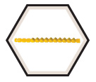 0.27 Caliber Strip - Yellow - Medium