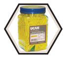 Yellow Wall Plug - Plastic / UYP (JUG)