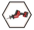 Reciprocating Saw - Compact - 18V Li-Ion / 2719 Series *HACKZALL™