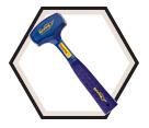 Drilling Hammer - 4 lbs.
