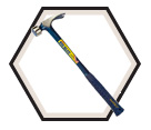 Builder Series Framing Hammer - 25 oz.