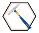 Welding Chipping Hammer - 14 oz.