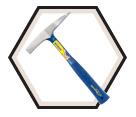 Welding Chipping Hammer - 14 oz.
