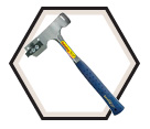 Shingle Hatchet w/ Replaceable Blade & Gauge - 2.63 lbs. (28 oz.)