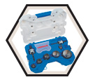 10 Piece Diamond Hole Saw Kit