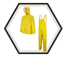 Rain Suit - PVC - Yellow / R401Y Series