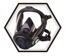 Respirator - Full Facepiece - Reusable / RU65001 Series