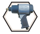 "Super Heavy Duty Impact Wrench - 1/2"" / 400245"