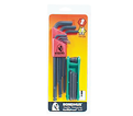 Hex Key Set - L-Wrench/Fold Up - Ball/Torx End - Metric/Torx - 17 pc / 14128