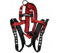 Full Body Harness - T&B - Red/Black / FPU01DG Series *EASY DON X-TREND