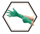 Disposable Gloves - 4.7 mil - Powder Free - Nitrile / 92-600 *TOUCH N TUFF