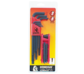 Hex Key Set - L-Wrench/Fold Up - Ball/Hex End - SAE - 16 pc / 14187