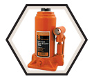 Heavy Duty Bottle Jack - 8 tons