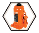 Heavy Duty Bottle Jack - 20 tons