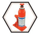 Super Heavy Duty Hydraulic Bottle Jack - 60 tons
