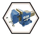 "Vise - Heavy Duty - Swivel Base - 4"" / 320151"