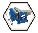 "Vise - Heavy Duty - Swivel Base - 5"" / 320152"