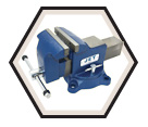 Heavy Duty Swivel Base Vise - 6""