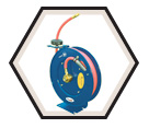 "Air Hose Reel - Retractable - 3/8"" x 50' / 391722 *HEAVY DUTY"