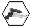 "Heavy Duty Drive Butterfly Impact Wrench - 3/8"" / 400116"