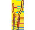 Ladder Handrails - Offset - Steel / SAFE-TLADEXT *SAFE-T