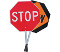 """Traffic Paddle - Stop/Slow - 12"""" Handle / 456"""