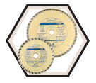 "Diamond Saw Blade - 7"" - 7/8"" / 568633"