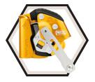 Fall Arrester - Aluminum - Yellow / B71ALU *ASAP LOCK