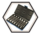 "14 Piece Hex Bit Socket Set - 1/4 & 3/8"" Drive / 601808"