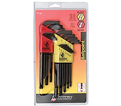Hex Key Set - L-Wrench - Ball End - SAE/Metric - 22 pc / 20199 *BALLDRIVER