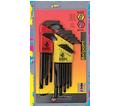 Hex Key Set - L-Wrench - Ball End - SAE/Metric - 22 pc / 20199 *BALLDRIVER