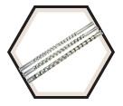 """Socket Rail - 1/2"""" Drive x 16 Clip"""