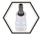 "Tamperproof TORX® Bit Socket - 2"" Long - 3/8"" Drive / 6777"