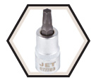 "TORX® Bit Socket - 2"" Long - 3/8"" Drive / 6777"