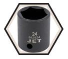 "Impact Socket - Deep 6 Point - 3/8"" Drive x 15mm"