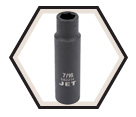 "Impact Socket - Deep 6 Point - 1/2"" Drive - Imperial / 6822"